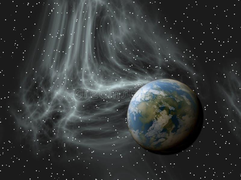 Espace extra-atmosph?rique illustration libre de droits