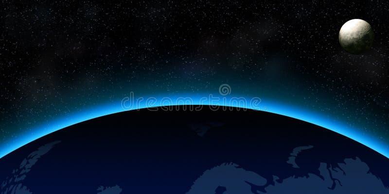Espace extra-atmosphérique illustration libre de droits