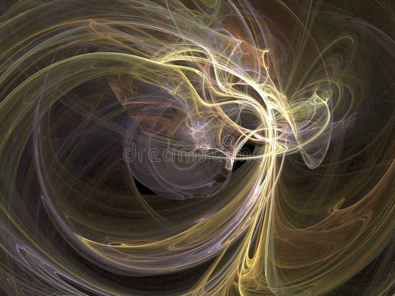 Espace extra-atmosphérique illustration de vecteur