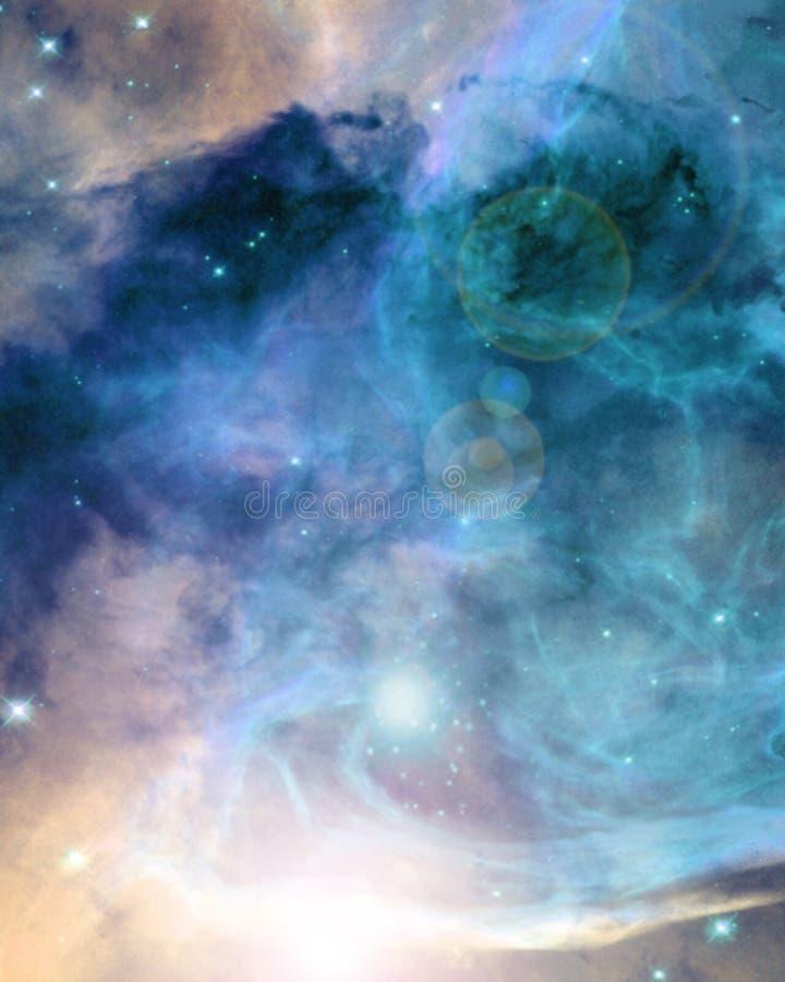 Espace extra-atmosphérique profond illustration libre de droits