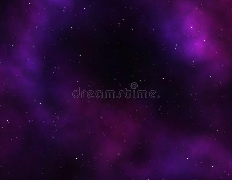 Espace lointain illustration de vecteur