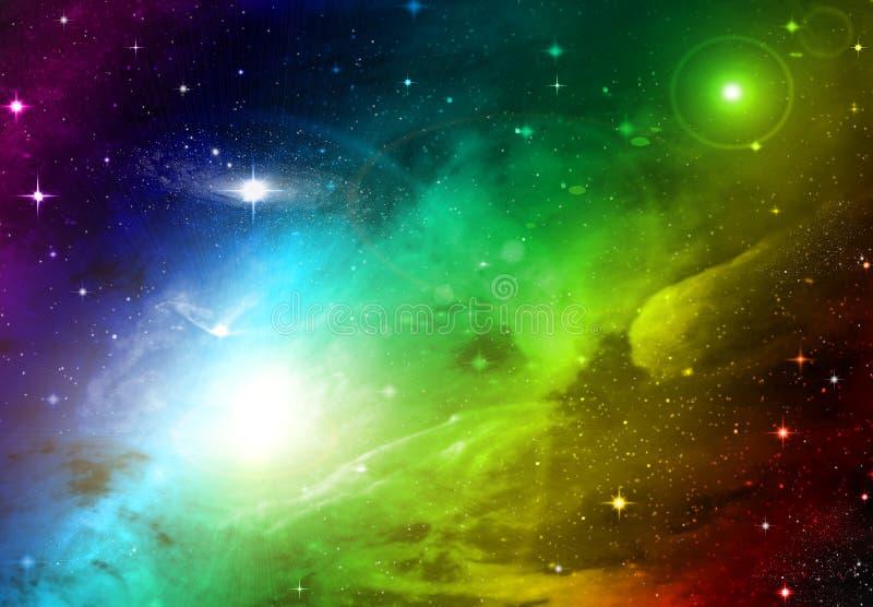 Espace o céu ilustração royalty free