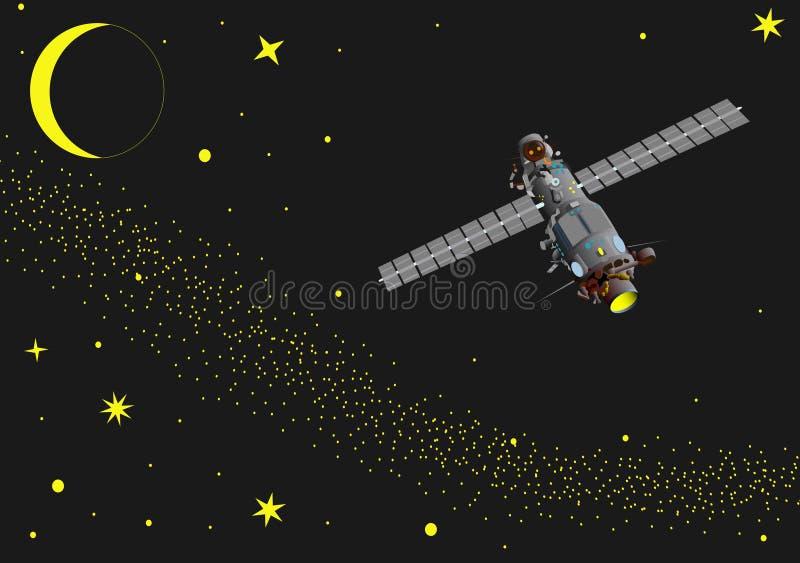 Espacio 1 stock de ilustración