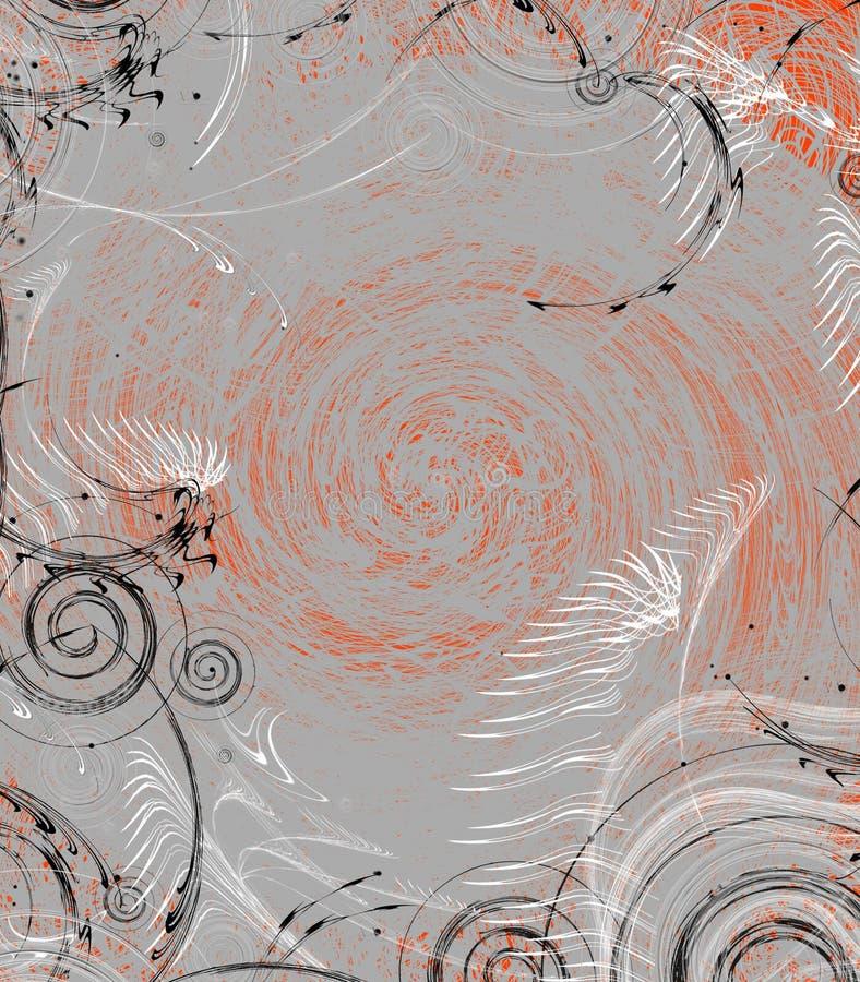Espacio anaranjado imagenes de archivo