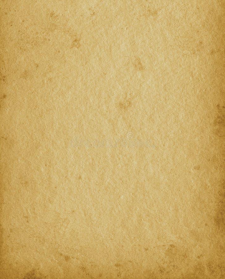 Espacio beige manchado envejecido texturizado vacío en blanco de la copia de la sepia de la cartera vertical de la textura del fo foto de archivo libre de regalías