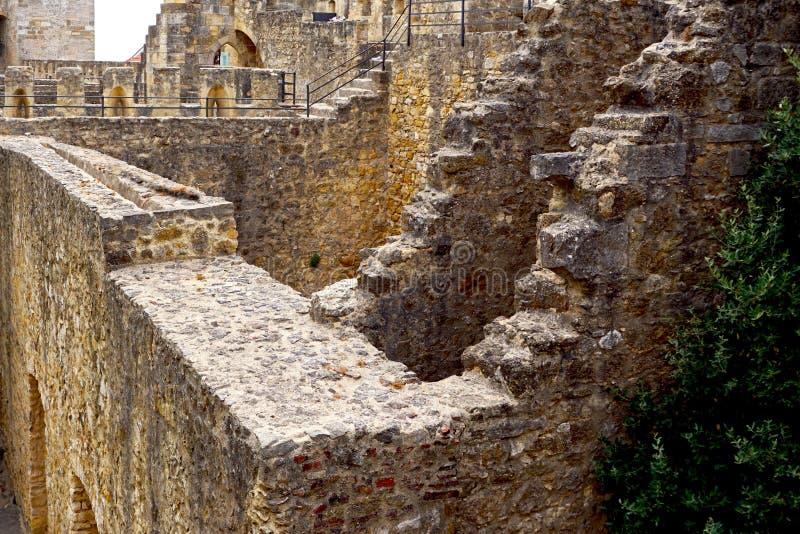 Espacio complicado en castillo imagen de archivo libre de regalías