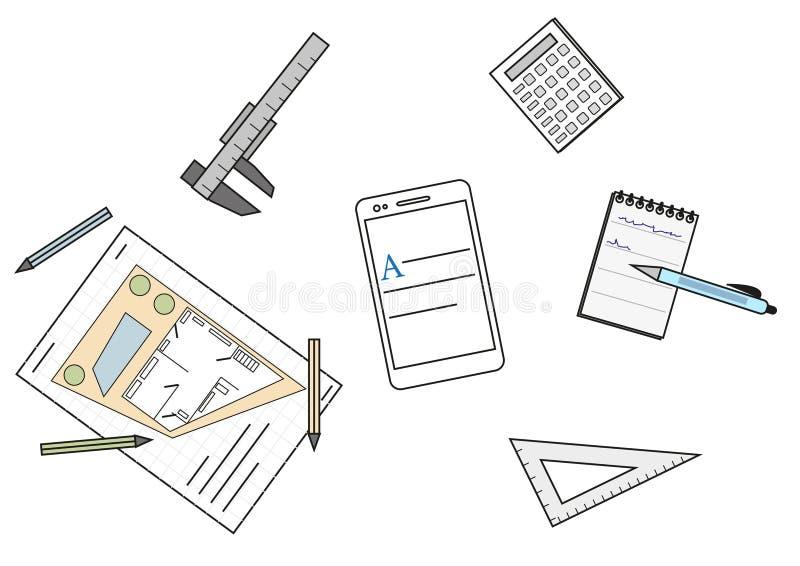 Espacio de funcionamiento de la arquitectura libre illustration