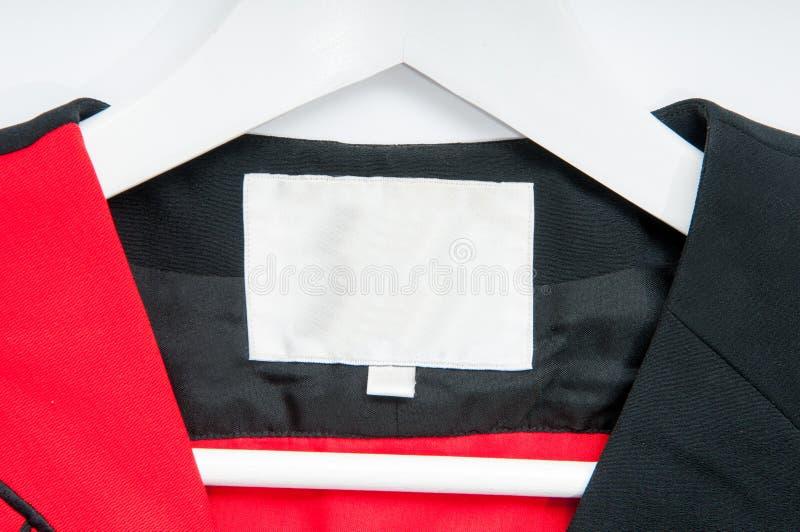 Espacio de la etiqueta fotos de archivo libres de regalías