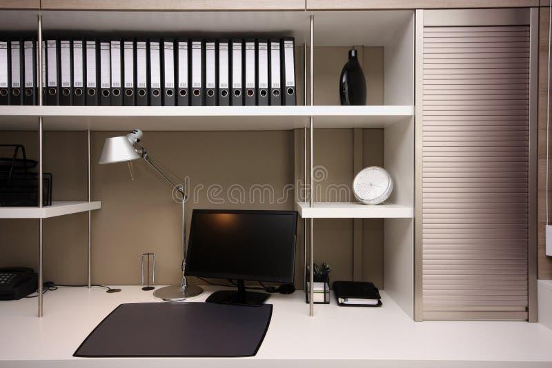 Espacio de trabajo moderno fotos de archivo