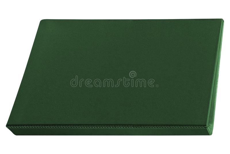 Espacio en blanco de la carpeta aislado en blanco fotografía de archivo libre de regalías