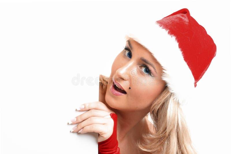 Espacio en blanco de la Navidad imagen de archivo libre de regalías