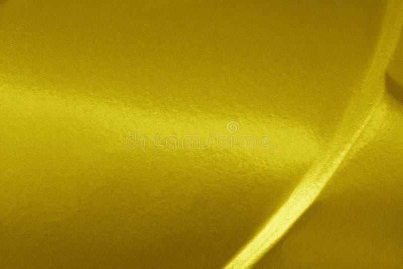 Espacio en blanco de la textura del fondo del oro para el diseño fotografía de archivo libre de regalías