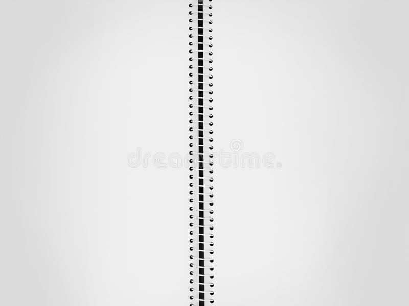 Espacio en blanco del libro del bosquejo ilustración del vector