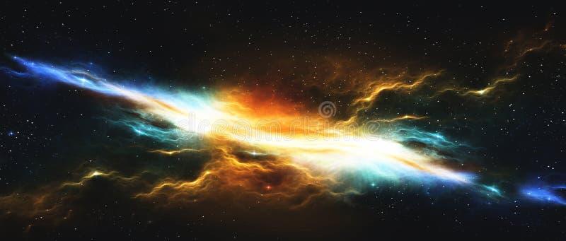 Espacio exterior ilustración del vector