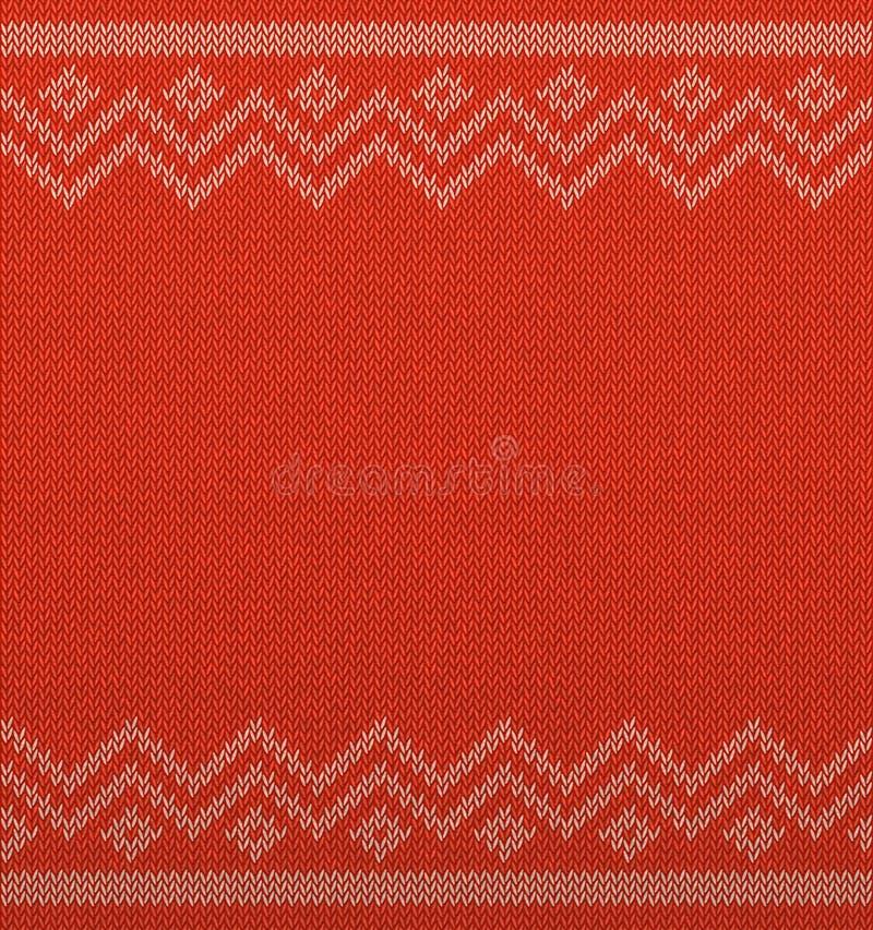 Espacio geométrico del fondo de la Navidad de punto para el texto Modelo inconsútil horizontal realista del vector de Navidad Sué stock de ilustración