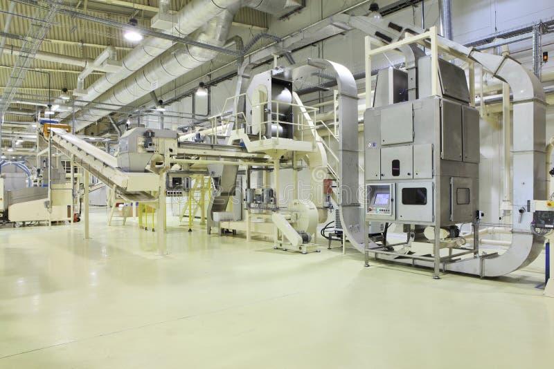 Espacio industrial foto de archivo