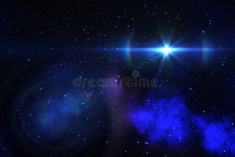 Download Espacio realista imagen de archivo. Imagen de starry - 44853059