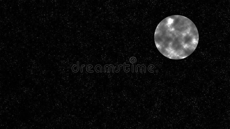 Espacio y el cielo estrellado libre illustration