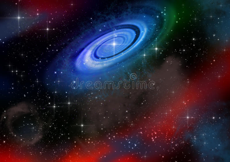 Espacios del universo libre illustration