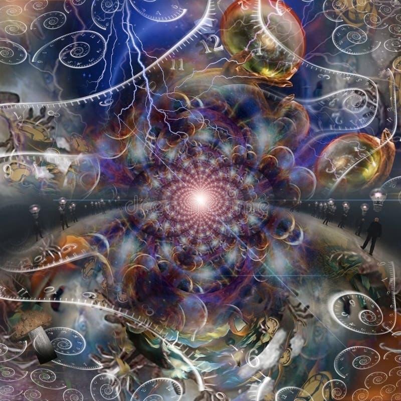 Espacios eternos libre illustration