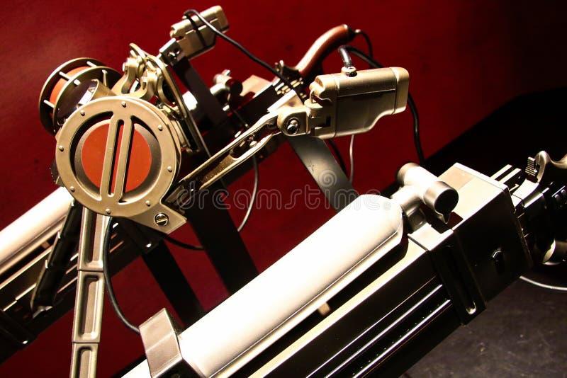 Espada da engrenagem da manobra e dispositivo 3D m?vel do ataque no tit? Shingeki nenhum kyojin imagem de stock royalty free