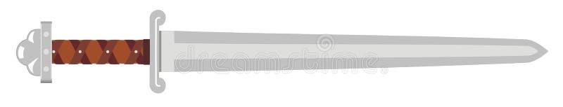 Espada de Vikingo ilustración del vector