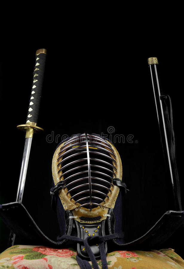 Concepto del samurai fotos de archivo