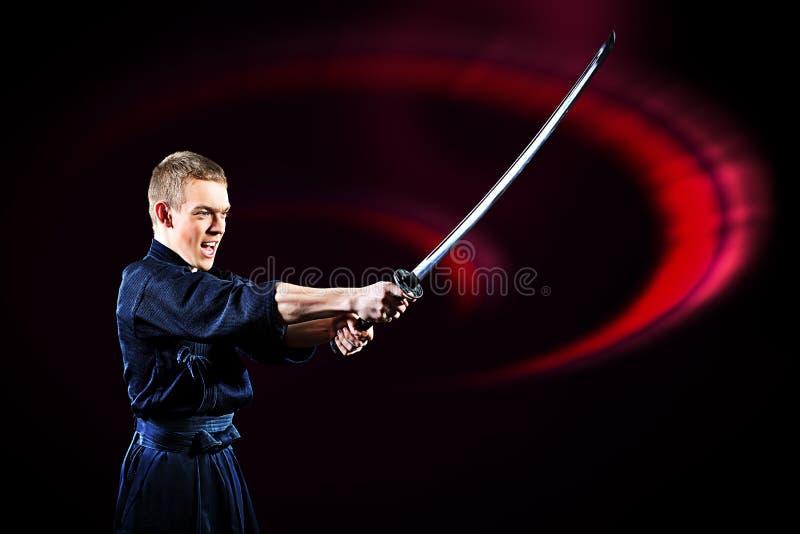 Espada del samurai fotografía de archivo libre de regalías