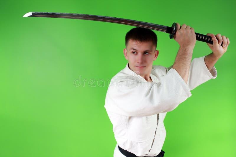Espada do samurai fotos de stock royalty free