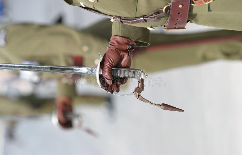 Espadas cerimoniais foto de stock royalty free