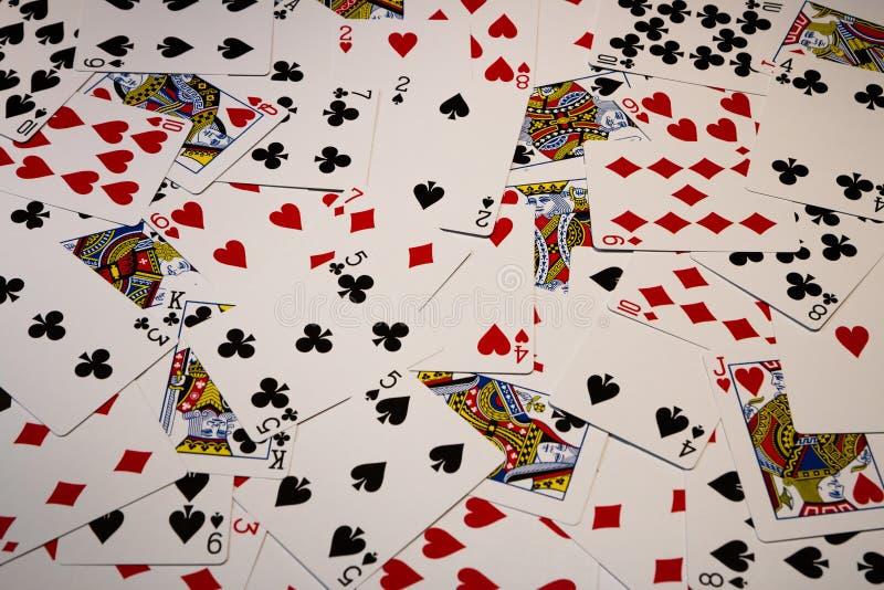 Espadas reales del flash del casino de las tarjetas que juegan imagenes de archivo