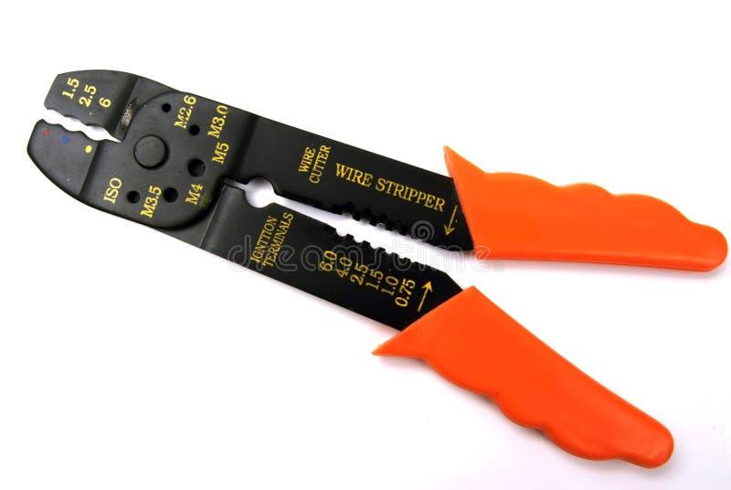 Espadelador do cortador de fio fotografia de stock