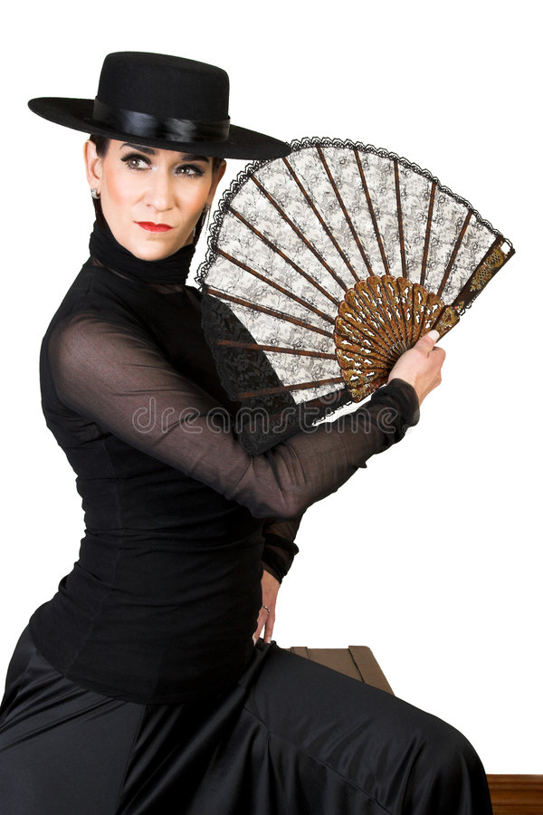 Espagnol de danseur image stock