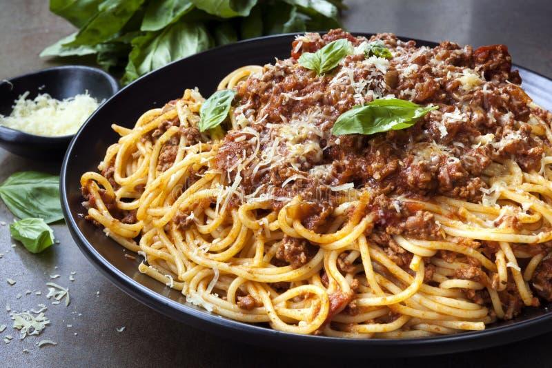 Espaguete bolonhês imagem de stock royalty free