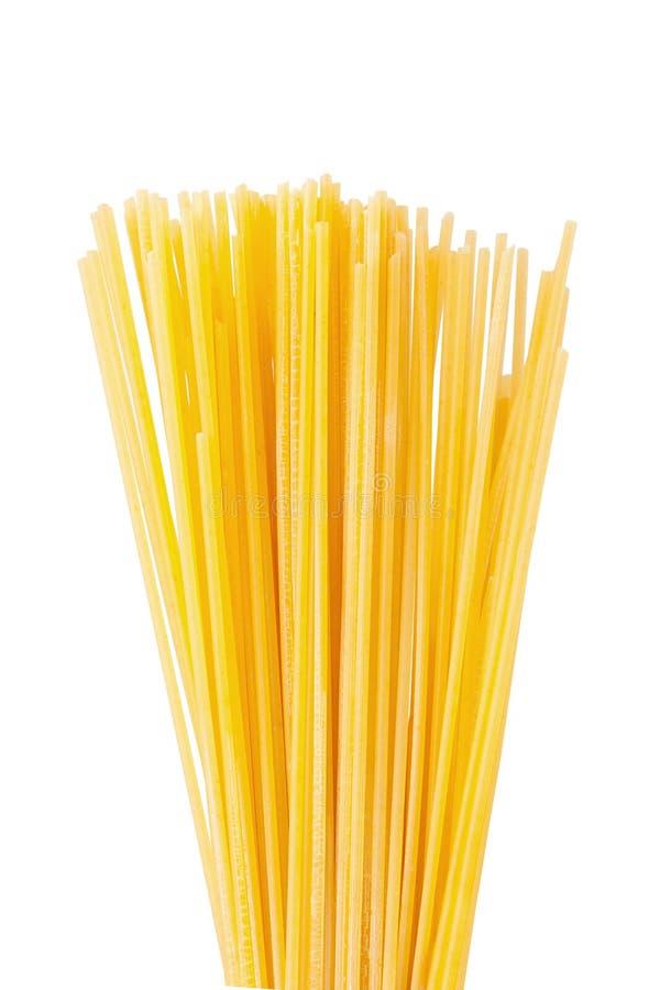 Espaguetes secos imagens de stock