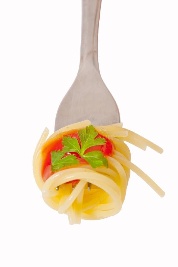 Espagueti, foto de archivo