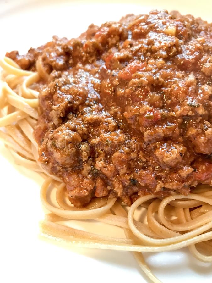 Espaguetis imagen de archivo