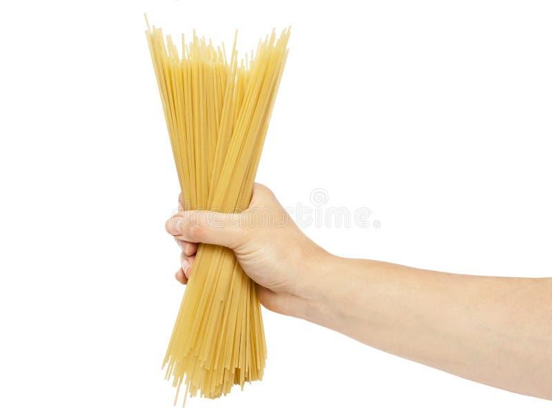 Download Espaguetis a disposición imagen de archivo. Imagen de secado - 42432377