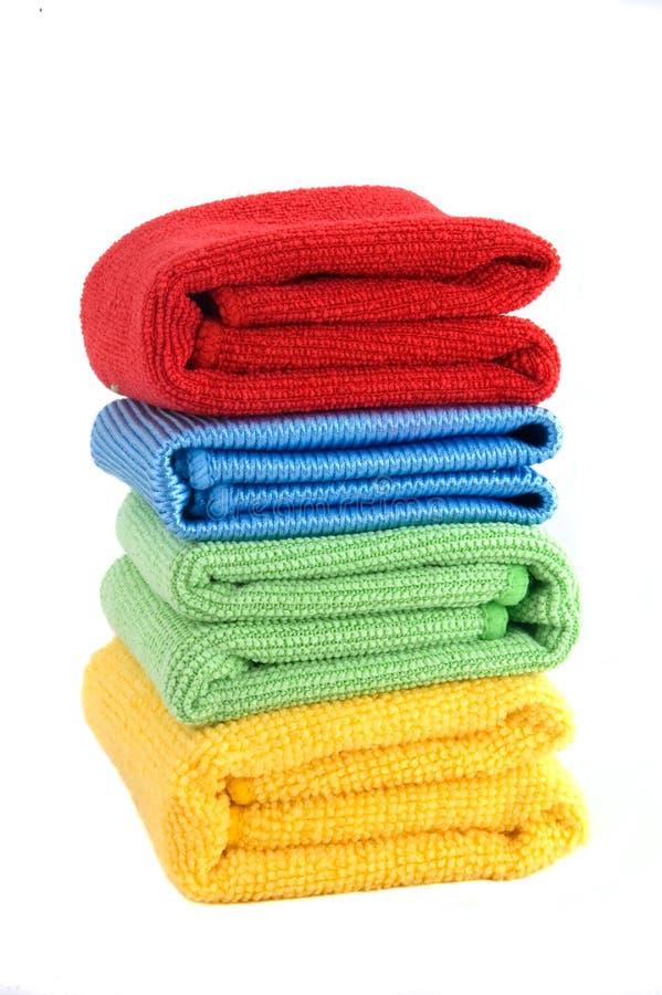 Espanadores coloridos imagem de stock