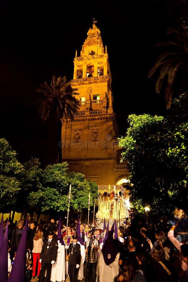 Espanha, a Andaluzia, semana Santa imagens de stock