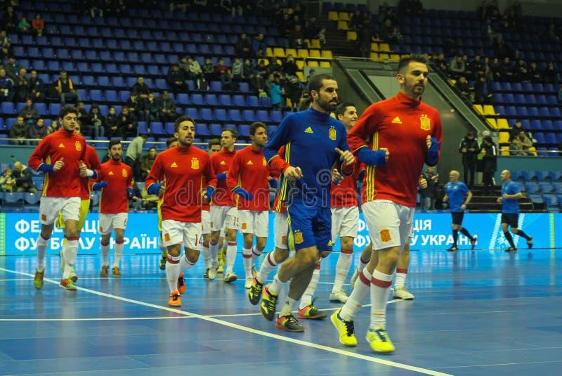 Espanha da equipe dos jogadores fotos de stock royalty free