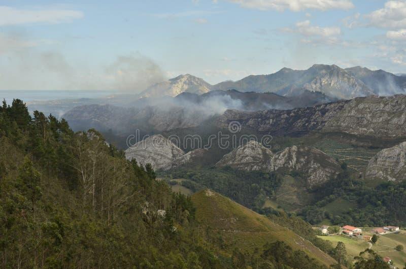 Espanha das montanhas fotos de stock royalty free