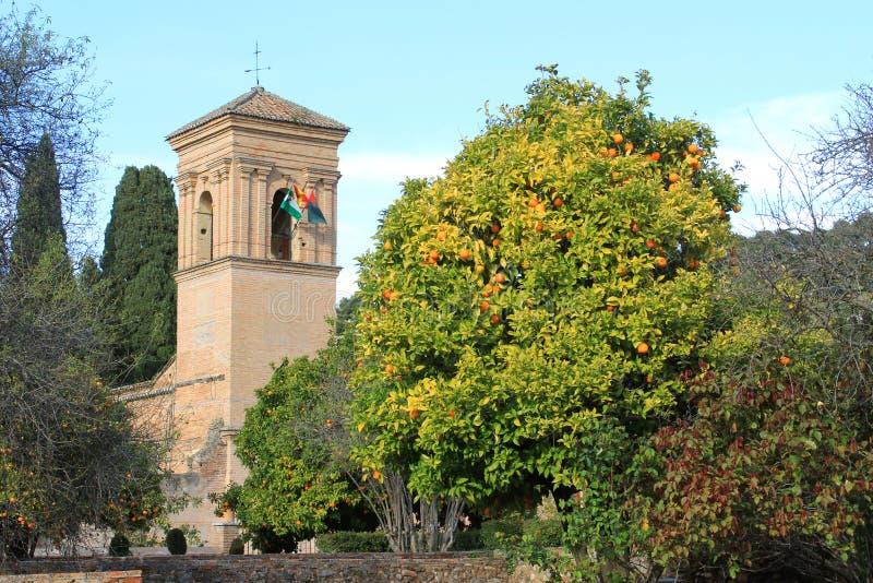 Espanha de Alhambra, Granada imagens de stock
