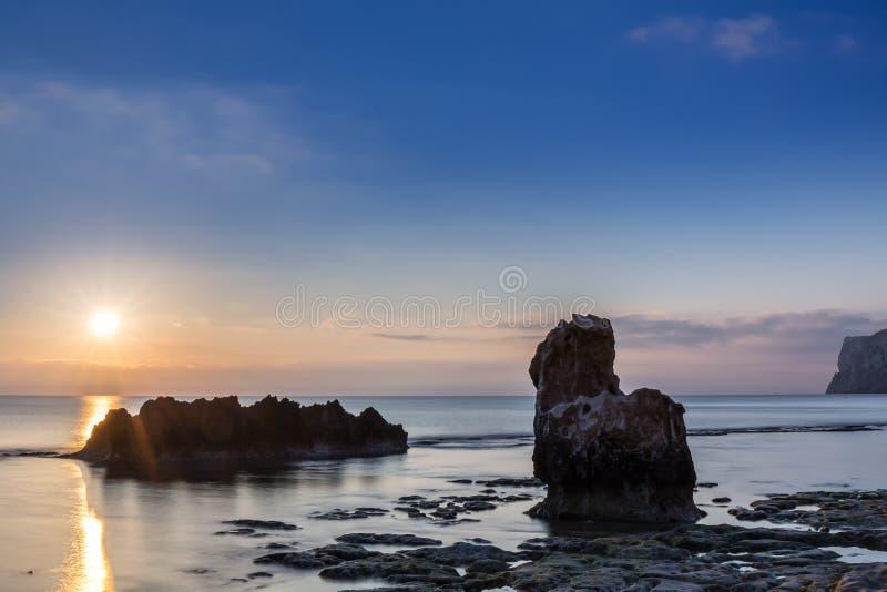 Espanha de Altea foto de stock