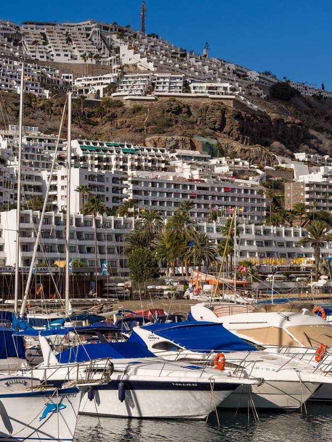 Espanha de Puerto Rico Holiday Resort Gran canaria foto de stock