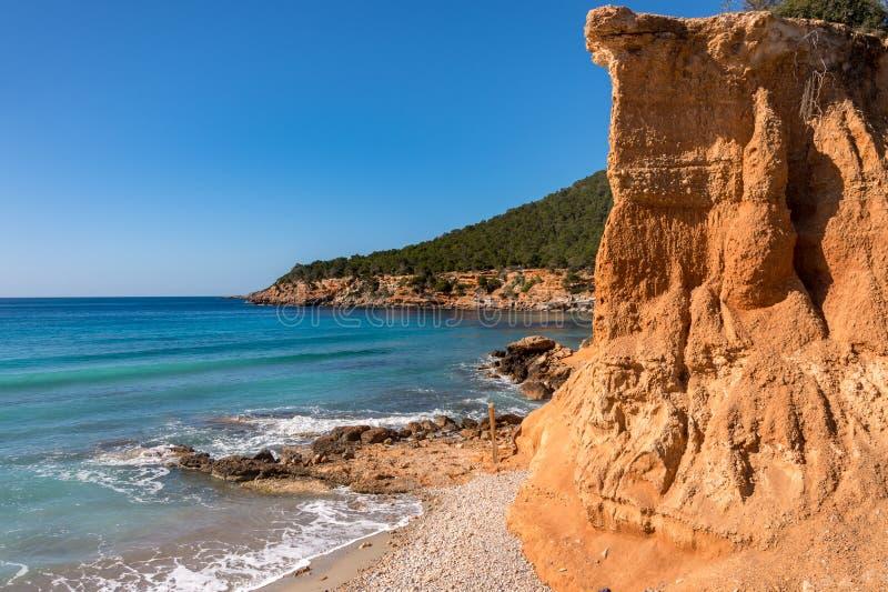 Espanha do Es Bol Nou Ibiza fotografia de stock royalty free