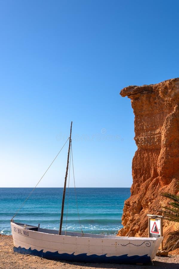 Espanha do Es Bol Nou Ibiza fotos de stock