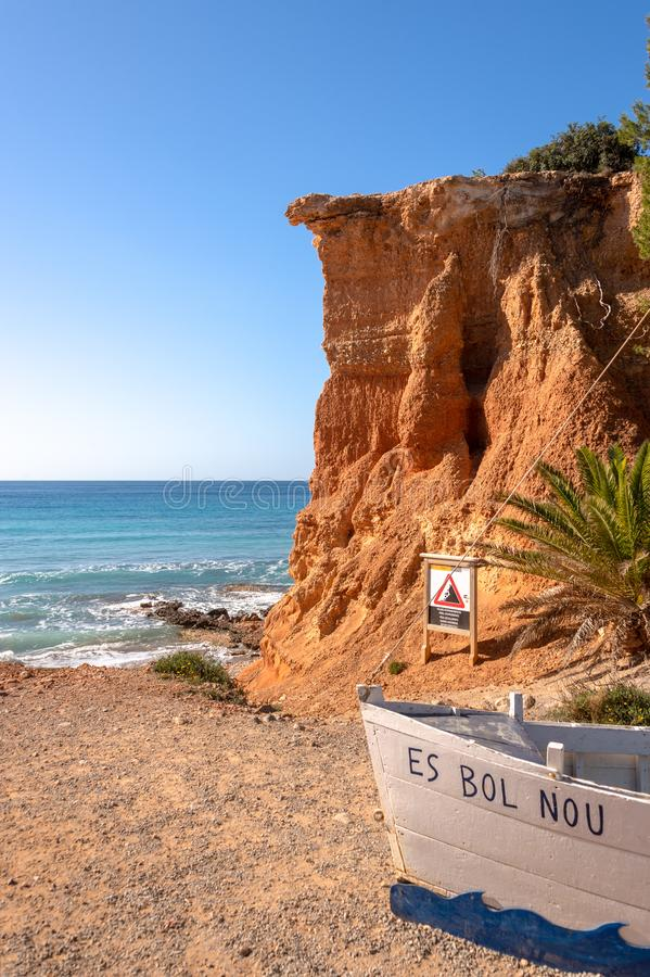Espanha do Es Bol Nou Ibiza foto de stock royalty free