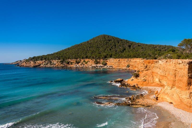 Espanha do Es Bol Nou Ibiza foto de stock