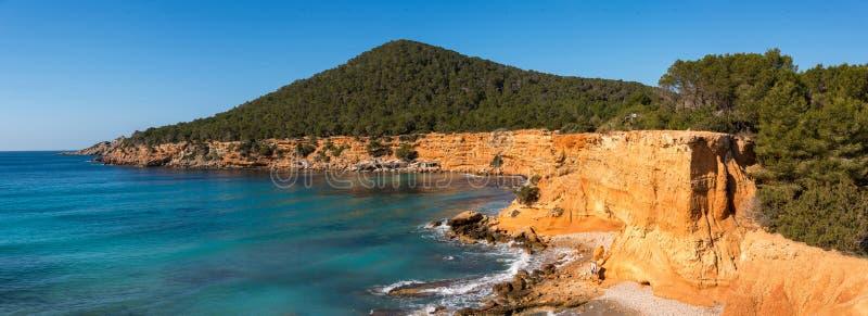 Espanha do Es Bol Nou Ibiza imagem de stock